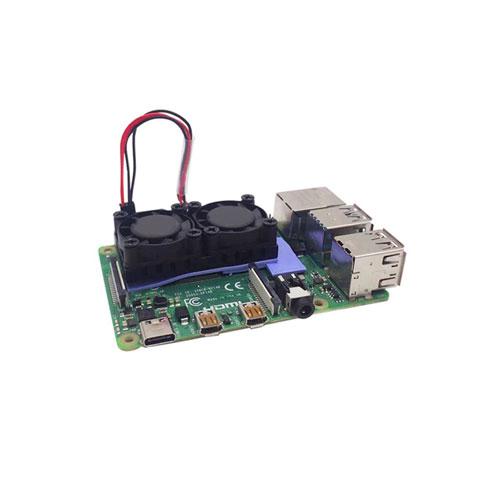 /& Raspberry Pi 2B//3B,IR Remote Control Switch,Button Control Switch 3CM Quiet Fan Cooling,Provides a Safe Shutdown Function,DockerPi Power Board 5V4A for Raspberry Pi 4 Model B /& Raspberry Pi 3B